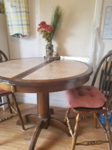 Marble top kitchen table