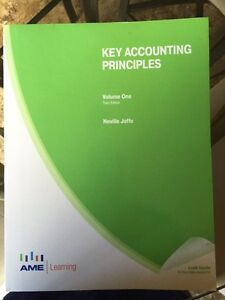 Holland College accounting textbooks