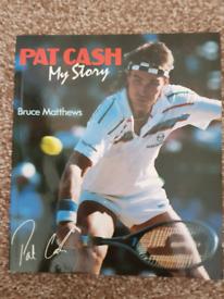 PAT CASH - MY STORY BY BRUCE MATTHEWS