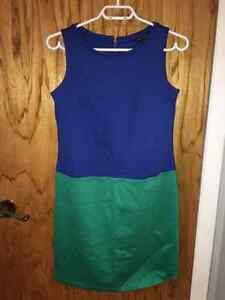 Belle robe bleu et turquoise TOMMY HILFIGER