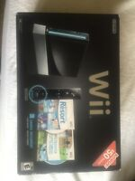 Brand new black wii console cheap!
