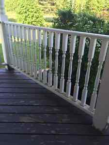 Deck Spindles and Railing