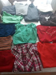 Ladies summer tops size small all 16 $20