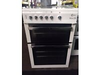 White flavel 60cm ceramic hub electric cooker grill & fan oven good condition with guarantee bargain