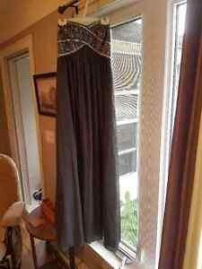 grey sequenced dress for sale