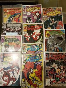 Amazing spider-man Venom, carnage, red goblin.. Marvel Comics