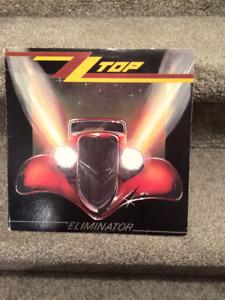 "ZZ Top ""Eliminator"" LP Album"