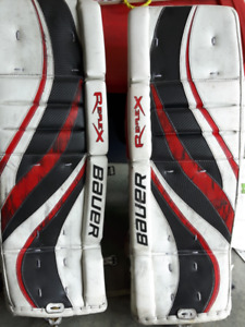Bauer Rx Goalie Pads   Buy or Sell Hockey Equipment in Ontario