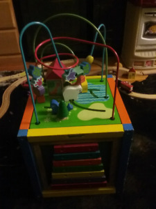 Activity learning cube