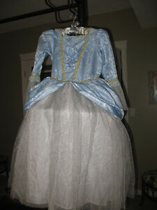 Powder Blue Princess Halloween or Playtime Gown