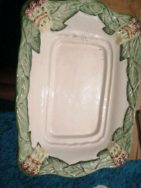 For sale a party plate square shape I not used it from TK max shop