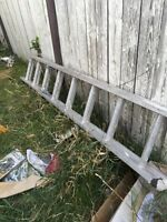 14foot extension ladder good cond.