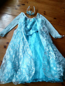 Authentic Disney Frozen ELSA Costume for Halloween