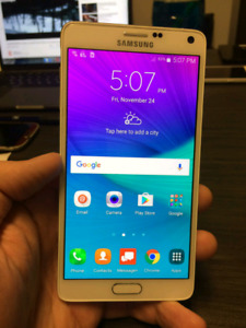 Unlocked,Original Samsung Galaxy Note 4 16Mpix,32GB,comme neuf