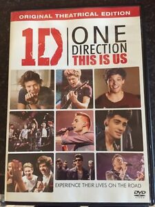 1D One Direction DVD