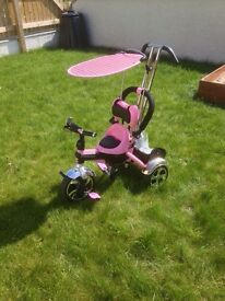 Baby/kids pink tricycle, USED well maintained bike and cheap...