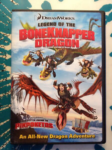 Comment entrainer son dragon DVD How to train your dragon