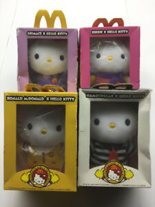 "BNIB McDonaldland x Hello Kitty 6"" Plush Set"