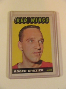 Roger Crozier 1965-66 trading card