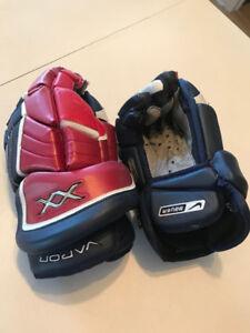 "Gants de hockey de joueur 15"" player hockey gloves"