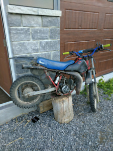Cr80 2 stroke , runs mint!