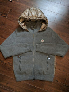 Moncler Maglione Tricot Cardigan Size M Green