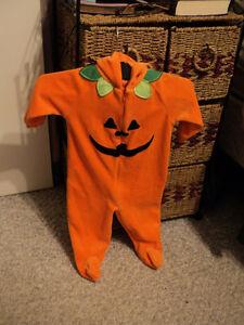Velour Pumpkin Sleeper