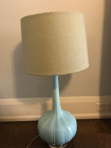 Robert Abbey Pike One Light Table Lamp w/ Shade