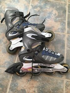 REDUCED TO SELL! Solomon Roller Blades-Women's Size 8 Cornwall Ontario image 2