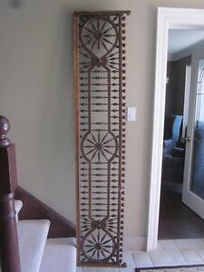 Vintage Interior Victorian Era Solid Wood Room Divider