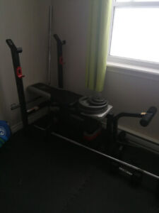 Bench presse/leg curl/leg extension