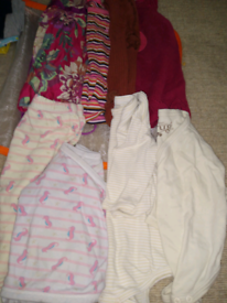 6-9 months baby clothes including organic items