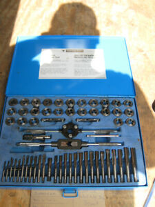 MASTERCRAFT 60 PC TAP AND DIE SET