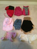 Size Small pet clothes/coats