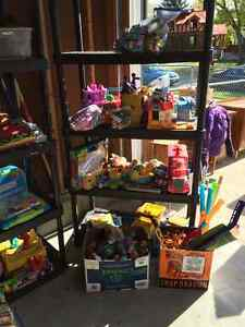 HUGE MULTI FAMILY GARAGE SALE | BOYS CLOTHES, TOYS, BOOKS,DISHES