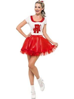 Sandy Cheerleader Kostüm mit Rock und Oberteil Gr. (Sandy Cheerleader Kostüme)