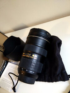 Nikon AF-S NIKKOR 24-70mm f2.8G ED with invoice and warranty