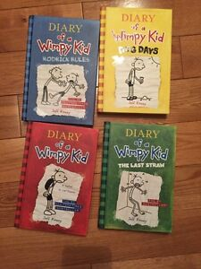 Diary of a wimpy kid books Cambridge Kitchener Area image 1