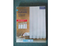 Shower Curtain White new in bag