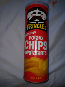 Pringles can from 1974