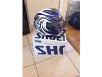 Shoei motorbike helmet XL