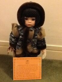 Lovely collectible Leonardo eskimo doll.