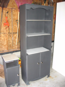 Shelving unit and telephone table