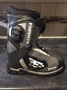 FXR Snowmobile Riding Boots Boa