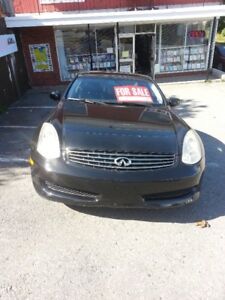 Infinity G35 – Very Rare Sports Coup.