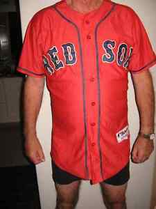 RED SOX button front Jersey 58