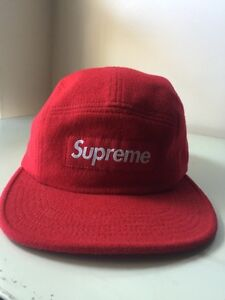 Supreme Red Suede 5 Panel