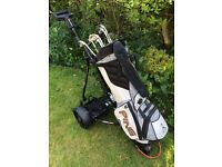 Golf clubs Ping & Hoofer Bag