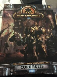 Iron Kingdoms Core Rules Warmachine RPG