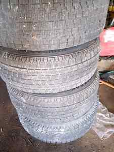 Winter tires and rims 215 70 r15